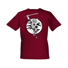 The Badger Maroon T-Shirt